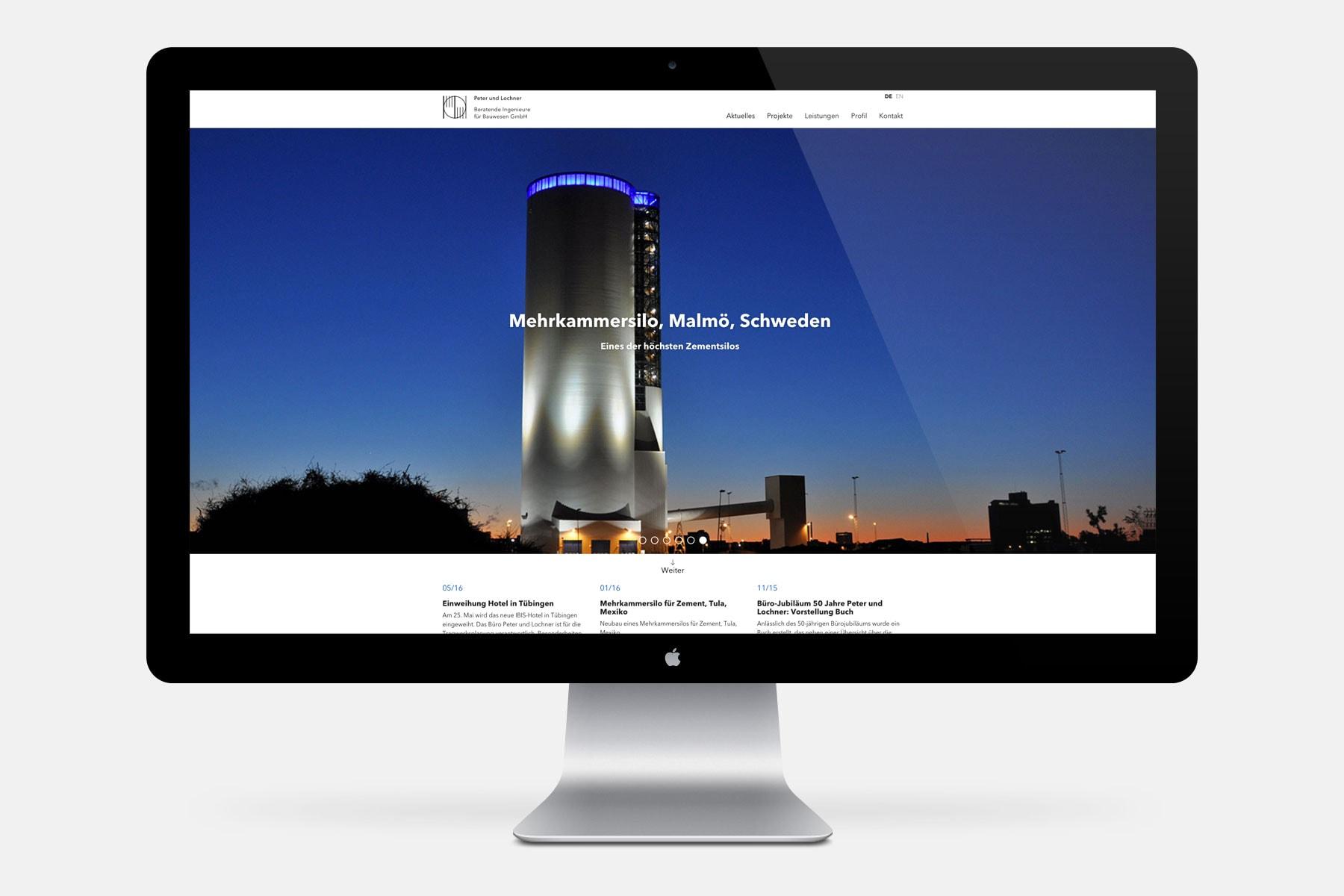 PUL Ingenieure – Startseite [Desktop]